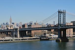 ニューヨーク、マンハッタンブリッジの写真素材 [FYI00059597]