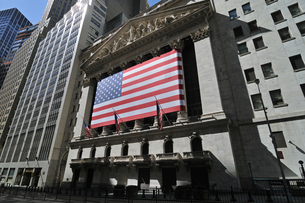 NYSE、ニューヨーク証券取引所の写真素材 [FYI00059623]