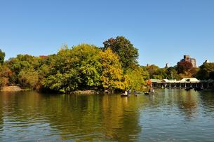 秋のセントラルパークの写真素材 [FYI00059671]