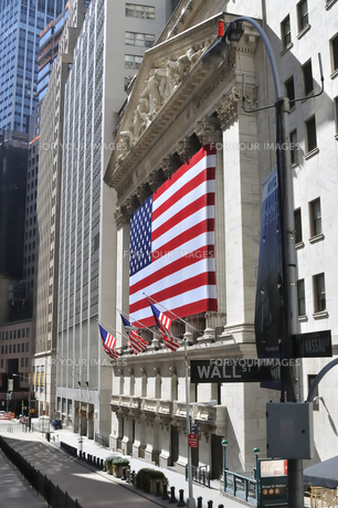 NYSE、ニューヨーク証券取引所の写真素材 [FYI00059678]