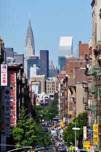 ニューヨーク チャイナタウンの写真素材 [FYI00059682]