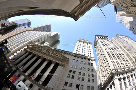 ニューヨーク、ウォール街の写真素材 [FYI00059698]