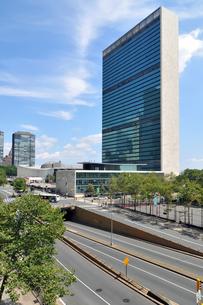 ニューヨーク、国連本部の写真素材 [FYI00059719]