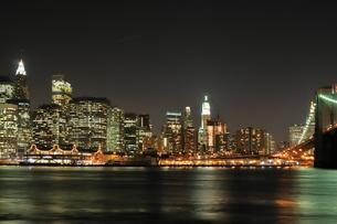 マンハッタン 夜景の写真素材 [FYI00059732]