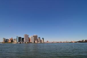 ニューヨーク、スカイラインの写真素材 [FYI00059743]