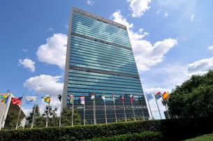 ニューヨーク、国連本部の写真素材 [FYI00059761]
