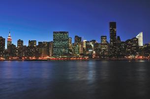 バレンタインナイトのニューヨークの写真素材 [FYI00059776]