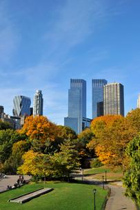 秋のセントラルパークの写真素材 [FYI00059810]