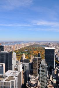 秋のニューヨーク、セントラルパークの写真素材 [FYI00059823]