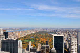 秋のニューヨークセントラルパークの写真素材 [FYI00059828]