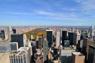 秋のニューヨーク、セントラルパークの写真素材 [FYI00059841]