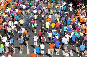 ニューヨーク シティ マラソンの写真素材 [FYI00059986]