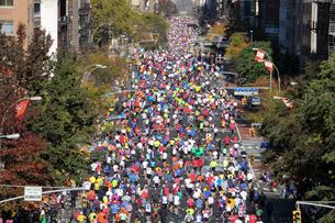 ニューヨーク シティ マラソンの写真素材 [FYI00059994]
