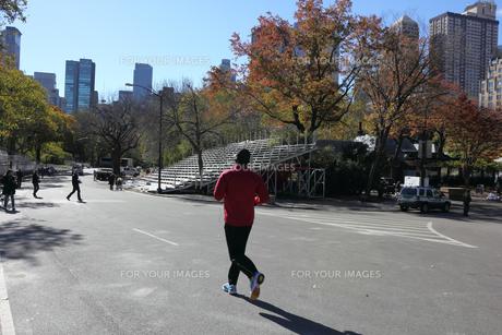 ニューヨークマラソンの翌日の写真素材 [FYI00060009]