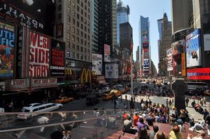 ニューヨーク タイムズスクエアの写真素材 [FYI00060091]
