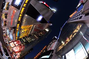 タイムズスクエア夜景の写真素材 [FYI00060096]