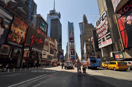 ニューヨーク タイムズスクエアの素材 [FYI00060134]