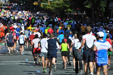 ニューヨーク シティ マラソンの素材 [FYI00060346]