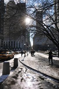 冬の五番街の写真素材 [FYI00060423]