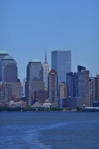 ニューヨーク マンハッタン スカイラインの写真素材 [FYI00060468]