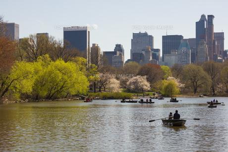 春のセントラルパークの写真素材 [FYI00060532]