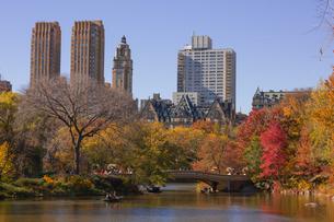 秋のセントラルパークの写真素材 [FYI00060549]