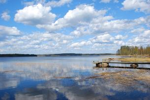 フィンランドの湖の素材 [FYI00060593]