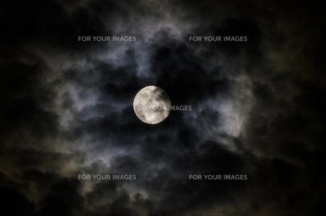 月夜の写真素材 [FYI00060635]