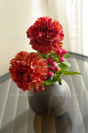 窓辺の花瓶の素材 [FYI00060657]