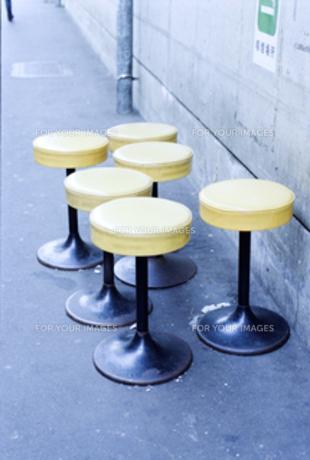 黄色い椅子の素材 [FYI00060736]