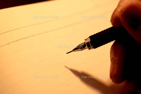 真っ白のノートとシャーペンの素材 [FYI00060767]