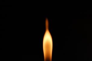 火をアップでの写真素材 [FYI00060771]