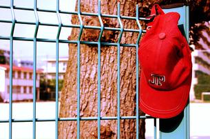 赤い帽子の忘れ物の素材 [FYI00060785]