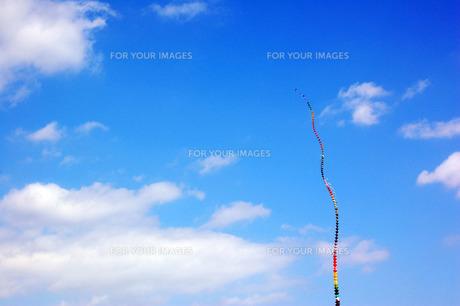 凧と空の写真素材 [FYI00060791]