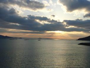 糸島の海の写真素材 [FYI00060948]