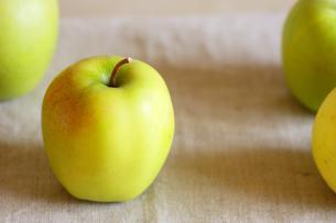 サンむつりんご・横2の写真素材 [FYI00060951]