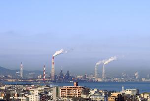 北九州工業地帯の写真素材 [FYI00060961]
