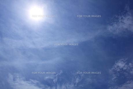 青空の写真素材 [FYI00060999]