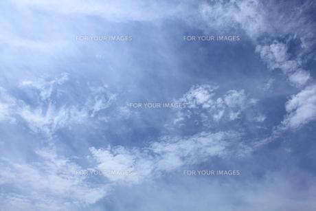 空と雲と・・・の写真素材 [FYI00061001]
