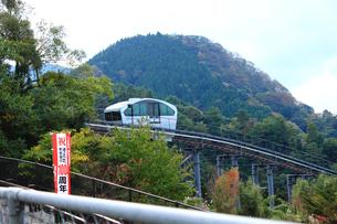 英彦山スロープカーの写真素材 [FYI00061014]