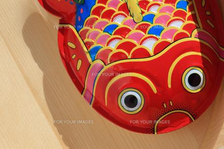 ブリキの金魚の素材 [FYI00061034]