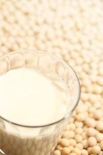 豆乳と大豆の写真素材 [FYI00061059]
