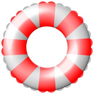 浮き輪 の写真素材 [FYI00061796]
