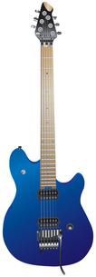 エレキギター 青色の写真素材 [FYI00061801]