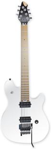 エレキギター クリアホワイトの写真素材 [FYI00061803]