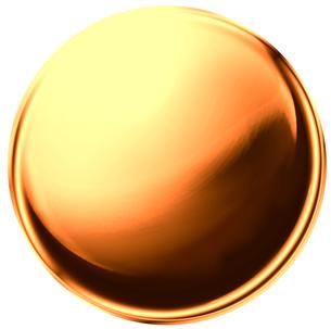 金属の玉 金色の写真素材 [FYI00061854]