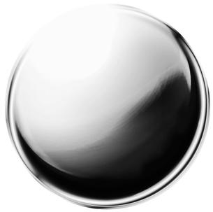 金属の玉 銀色の写真素材 [FYI00061872]
