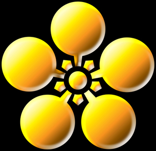 梅鉢紋の写真素材 [FYI00061878]