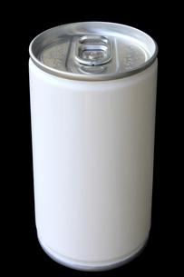 ドリンク缶 無地 黒バックの写真素材 [FYI00061880]