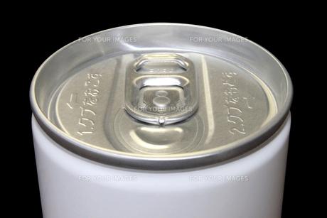 ドリンク缶上部 無地 黒バックの素材 [FYI00061886]